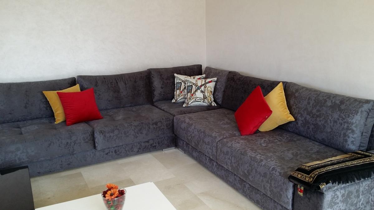 Location appartement meublé à Rabat