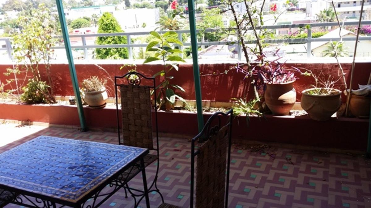 A louer appartement avec terrasse au haut Agdal Rabat