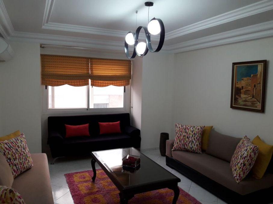 Appartement meublé à louer à Agdal Rabat