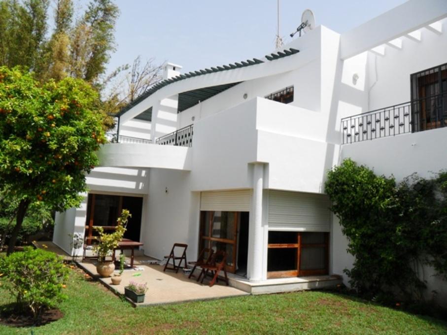 A louer villa meublée à Rabat  Hay Riad