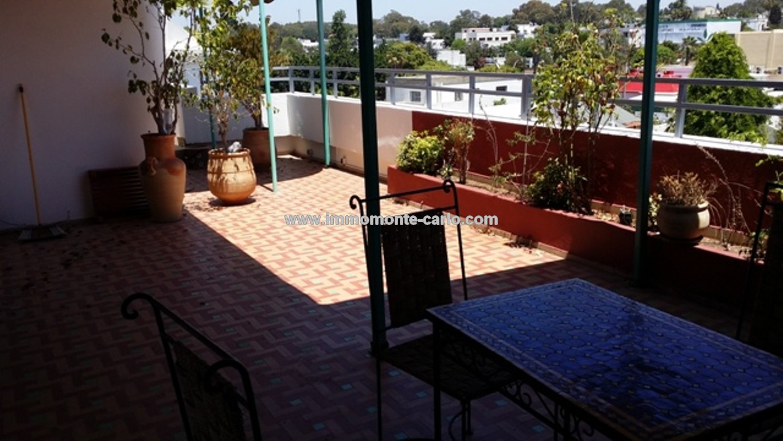 Appartement avec terrasse à louer à Rabat Haut Agdal