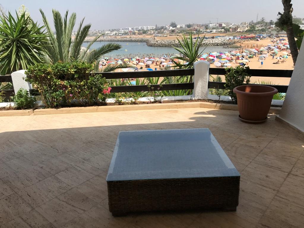 A louer villa meublée pieds dans l'eau à Sidi Abed Rabat-Temara