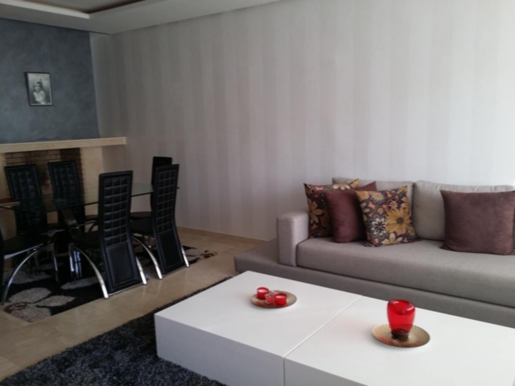 Location Appartement meublé avec terrasse à hay Riad Rabat