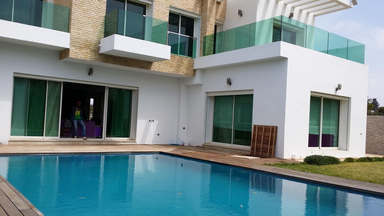 à louer à Rabat villa neuve