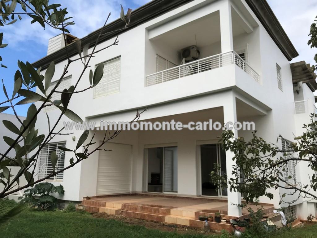 A louer villa usage Bureau neuf à Hay Ryad à RABAT