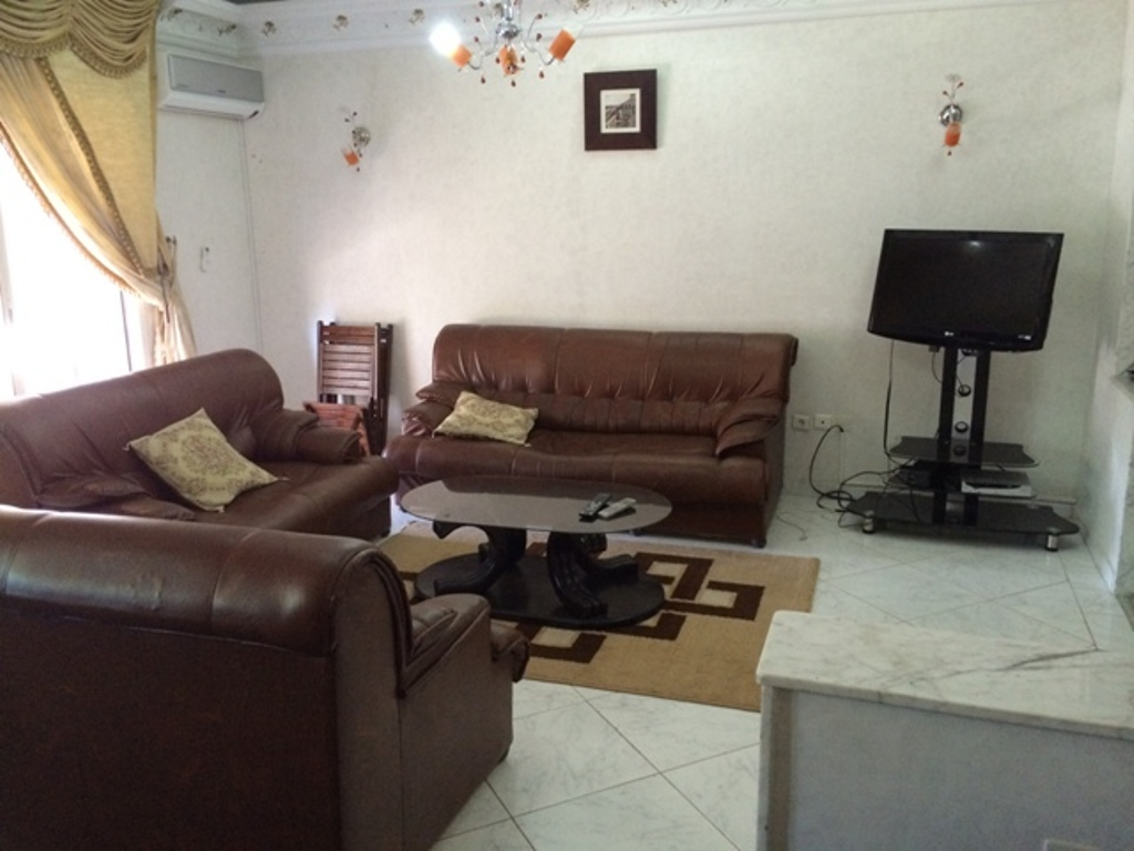 Location appartement avec terrasse au quartier Hassan à Rabat