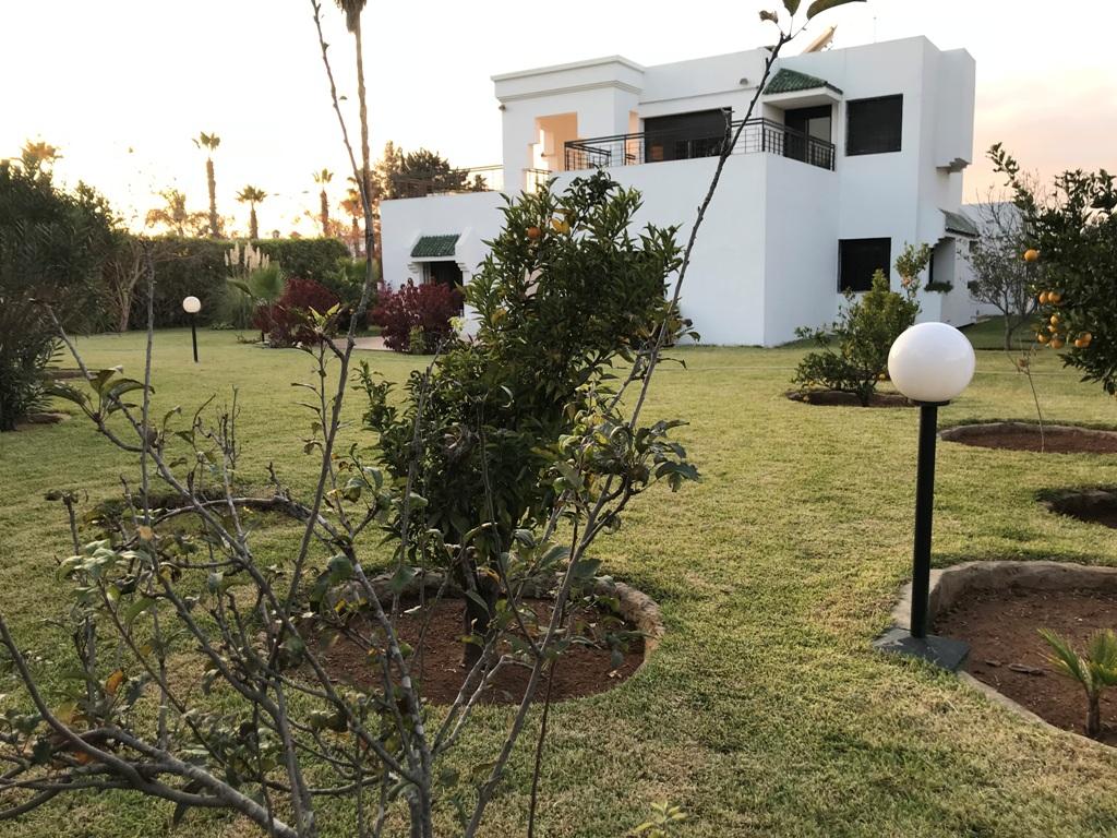 À louer villa avec chauffage central Hay Riad RABAT