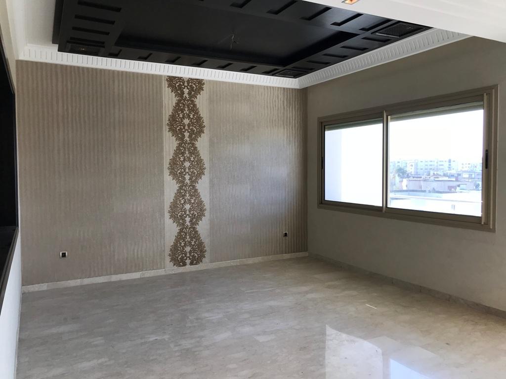 Location appartement avec terrasse Hay Riad Rabat.