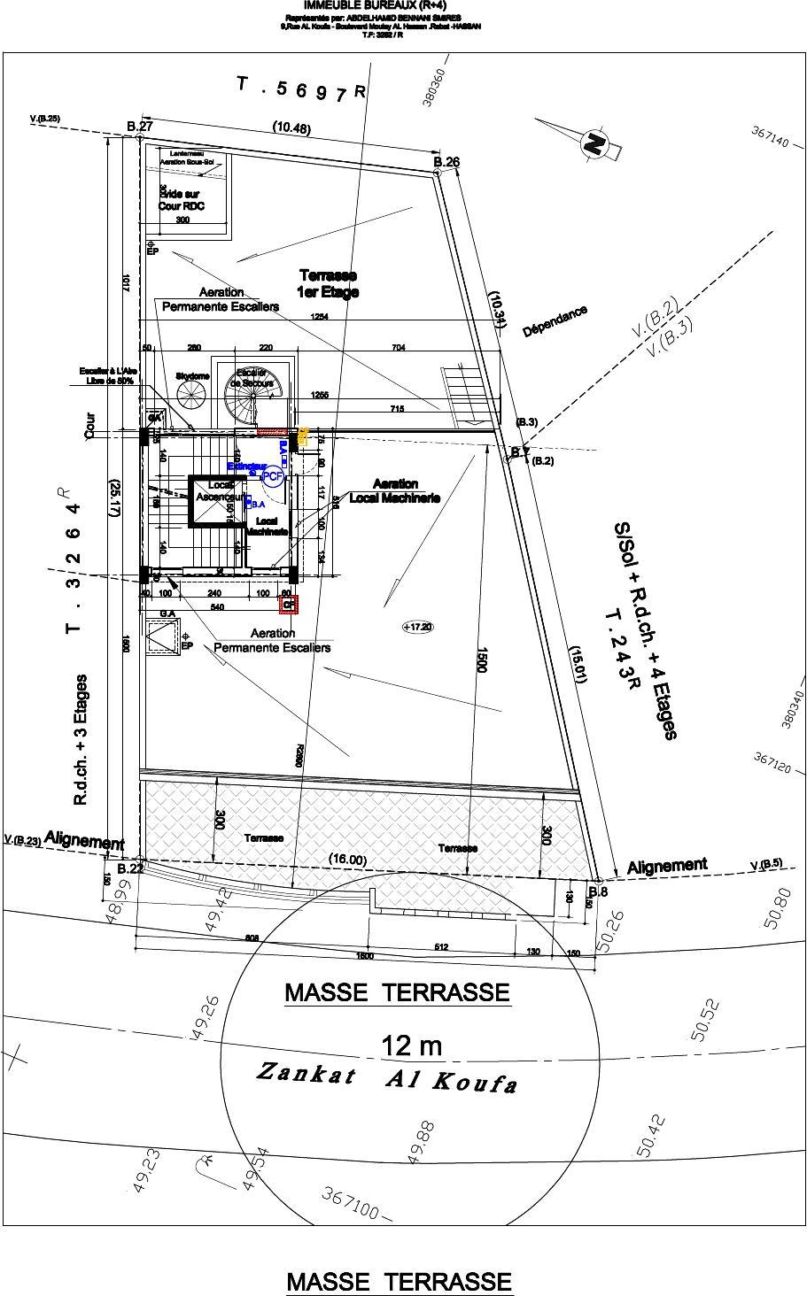 Masse terrasse