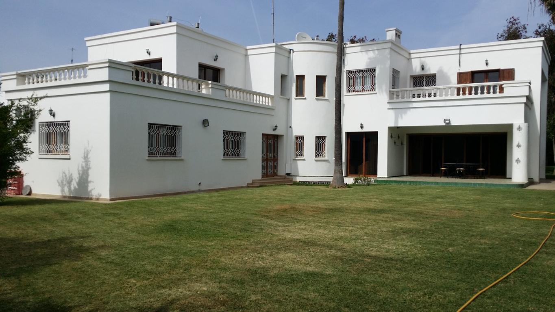 Villa haut standing à louer Ambassadeurs SOUISSI  RABAT au MAROC