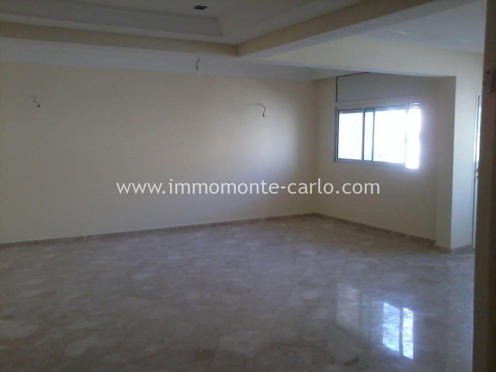 Location d'un appartement vide à Agdal Rabat