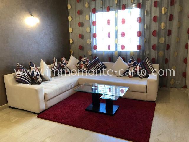 Appartement de standing avec grande terrasse au haut  Agdal Rabat
