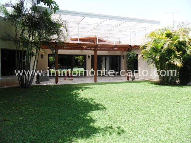 Location villa  de luxe à Rabat au quartier Souissi Rabat