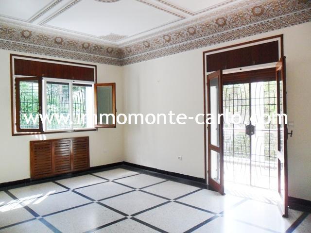 Location villa habitation ou bureau Souissi à Rabat