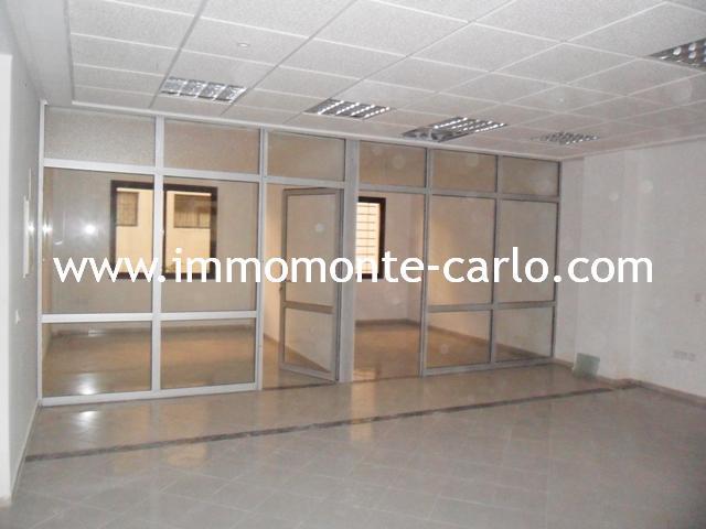 A louer à Rabat plateaux bureaux à Agdal Rabat,