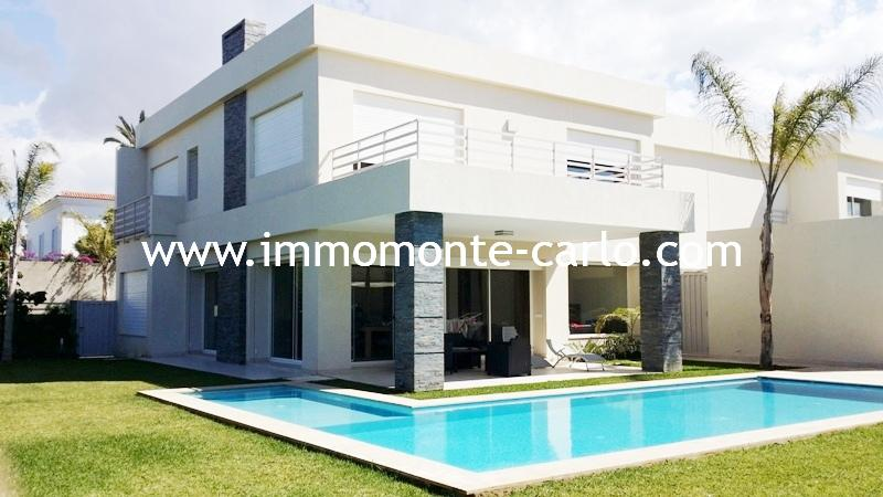 Location villa haut standing à Rabat au quartier Souissi