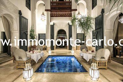 Vente Riad à Marrakech Maroc,