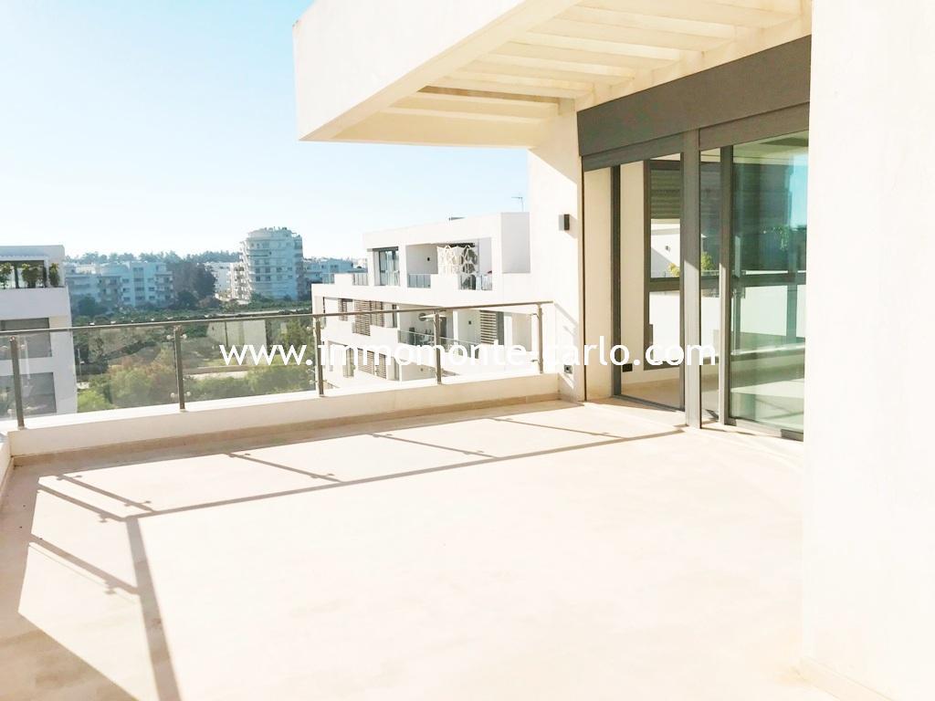 A vendre appartement de standing avec grande terrasse Souissi Rabat,