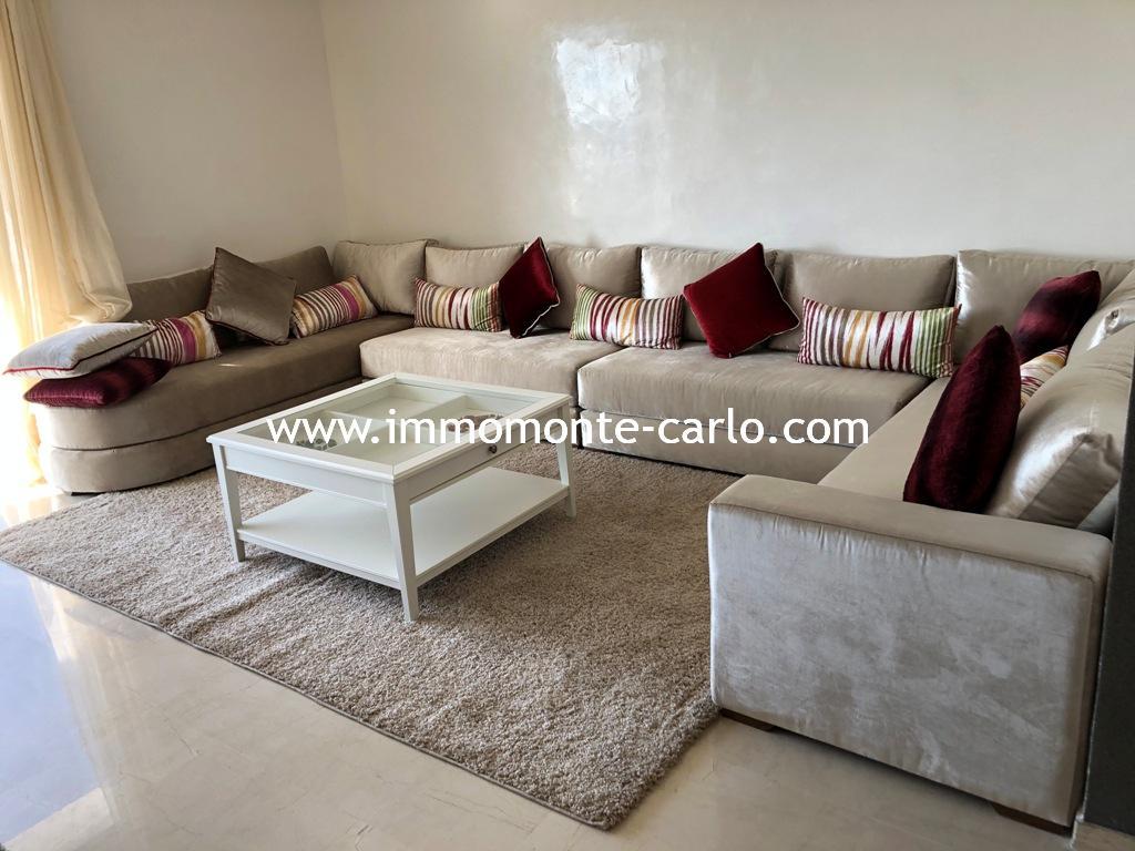 Appartement meublé à louer à Hay Riad Prestigia Ryad Al Andalous,