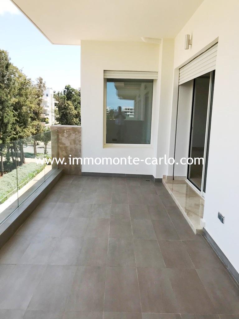 A louer appartement à Souissi Rabat