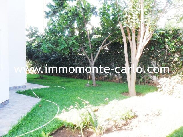 Villa à louer à Hay Riad Rabat Maroc