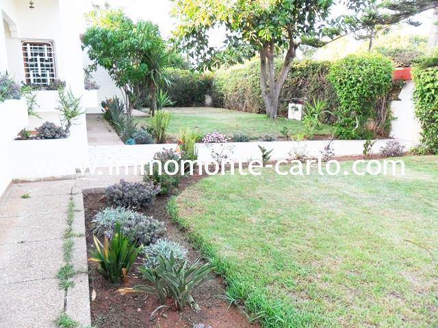 Belle villa à louer au quartier Souissi RABAT