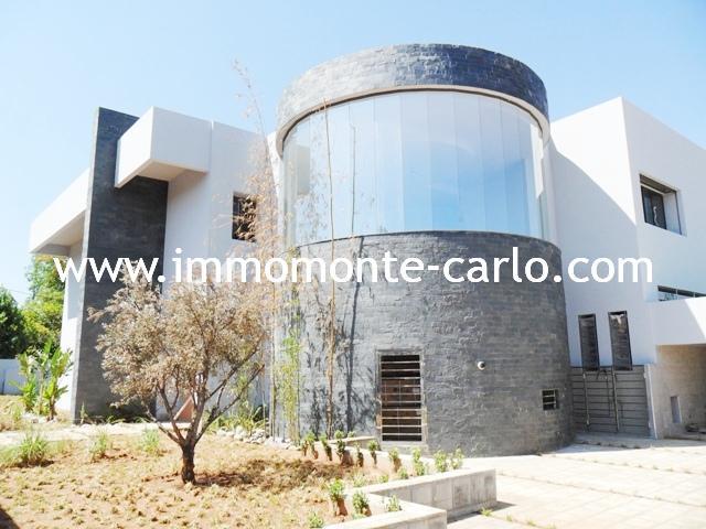 Location Villa  neuve de luxe au quartier Souissi RABAT