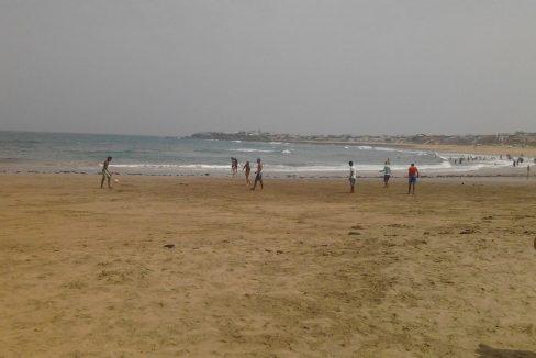 Accès à la plage