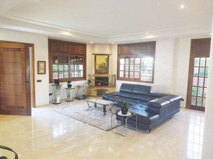 Location à Hay Riad une villa moderne et rénovée