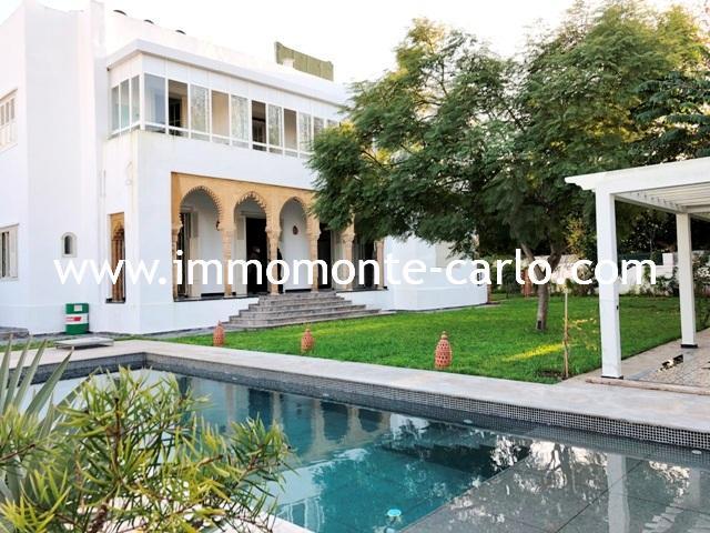 Villa d'architecte  moderne à Rabat au quartier Hassan