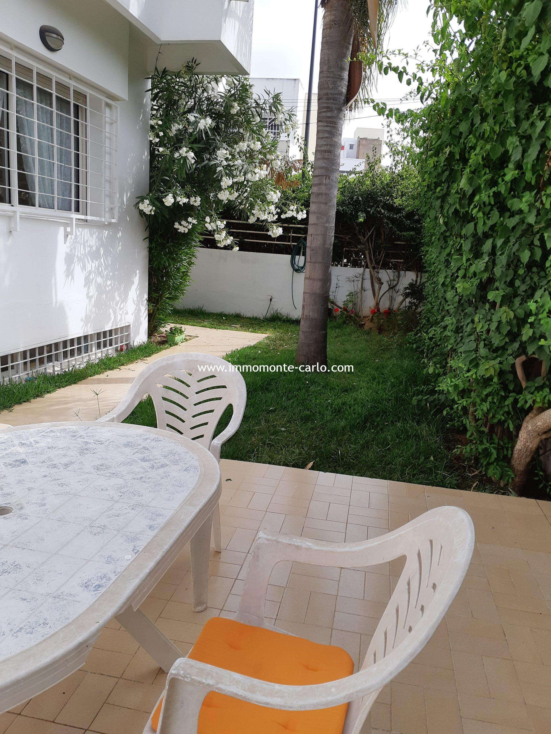 Location villa à l'Agdal Rabat