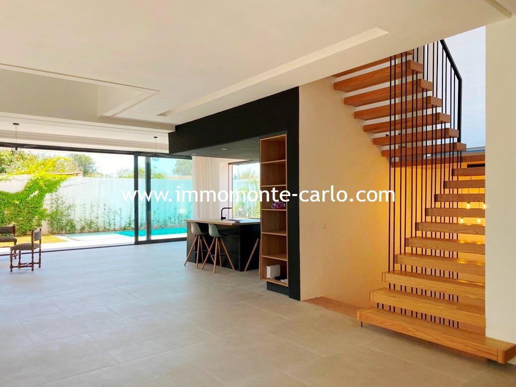 Superbe villa avec piscine proche de Descartes Rabat